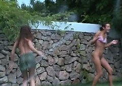 spanish angels watersports in the garden