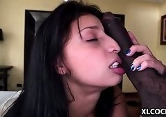 Yenny Contreras takes big darksome cock