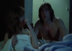 Isabelle Huppert nude as that babe having raunchy sex with some guy,