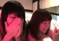 Pissing japanese lesbo