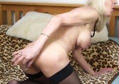 Dirty granny needs a good sex