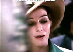 Wondrous lady in hat Annette Haven gives bj delicious ramrod at the party