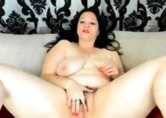 Bbw milf masturbating hard