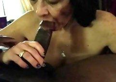 Granny Likes Sucking Darksome Dick